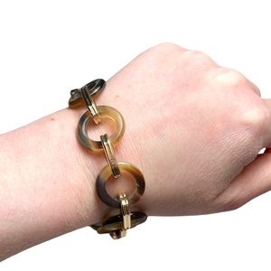 Noonday Collection Tortoise Chain Link Bracelet